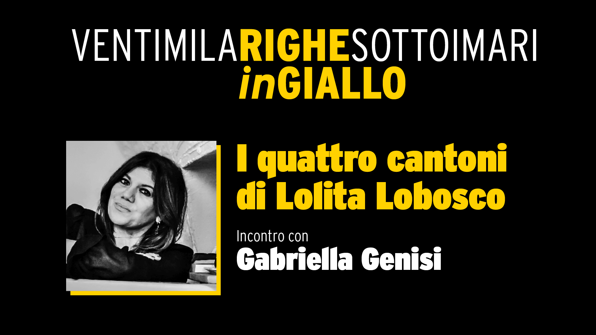 I quattro cantoni  di Lolita Lobosco - Video Integrale