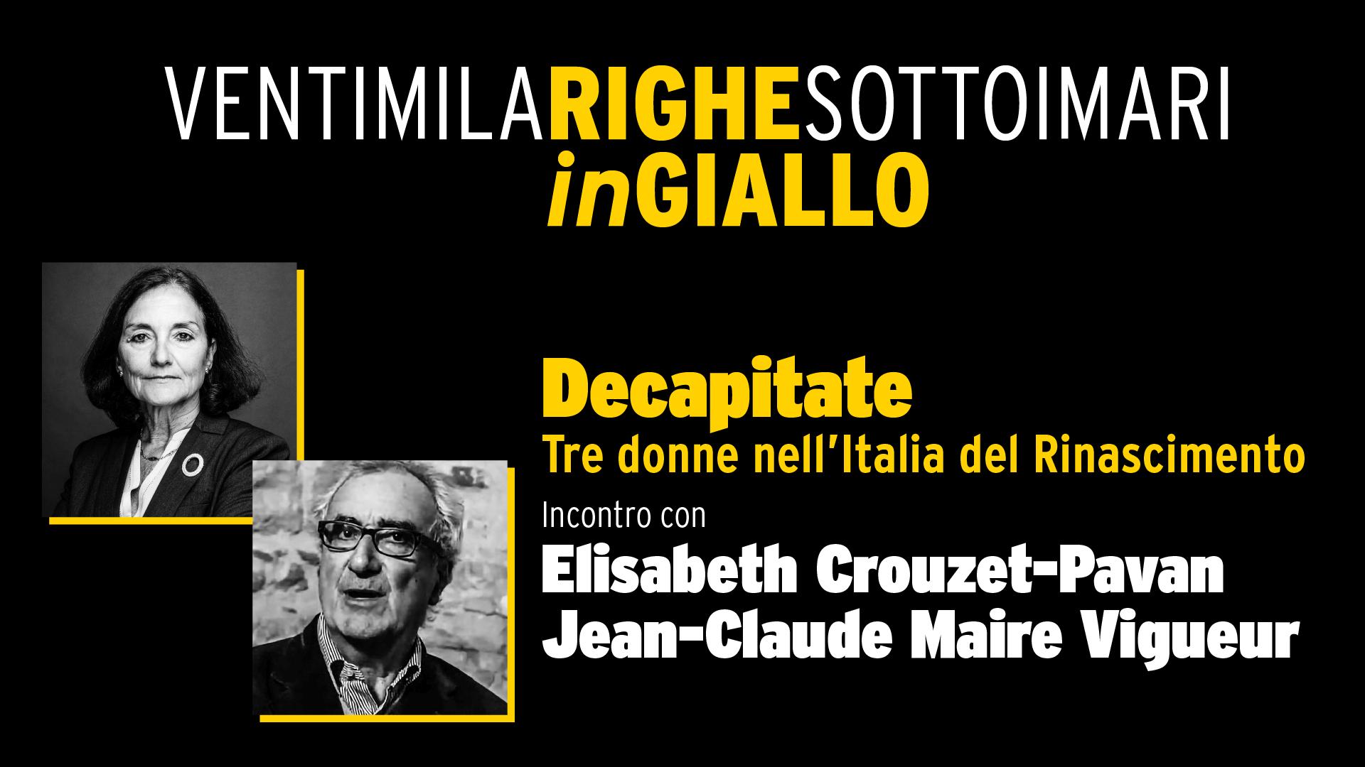 Decapitate - tre donne nell'Italia del Rinascimento- Video Integrale
